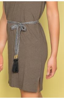 Dress Dress TIME Woman S19212W (42403) - DEELUXE-SHOP