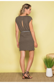 Dress Dress TIME Woman S19212W (42405) - DEELUXE-SHOP