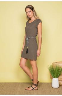 Dress Dress TIME Woman S19212W (42406) - DEELUXE-SHOP
