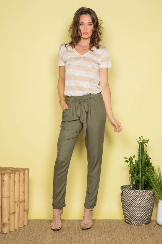 Pant Pant ELIDA Woman S19725W (42443) - DEELUXE-SHOP