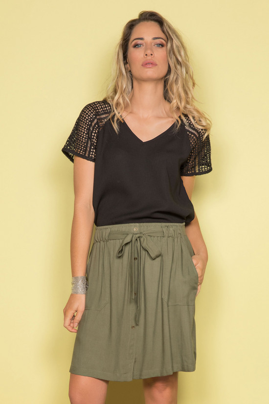 Skirt Skirt MARINA Woman S19770W (42464) - DEELUXE-SHOP