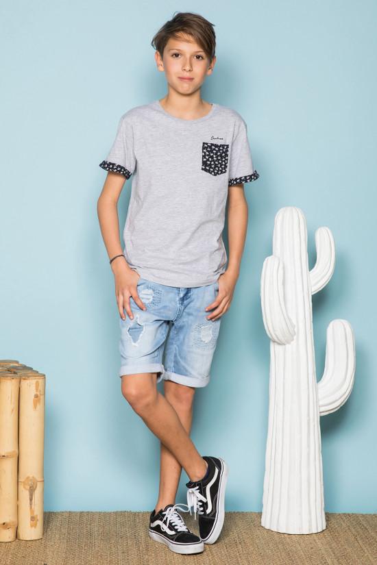 T-shirt BAHAMAS Boy S19141B (42547) - DEELUXE-SHOP