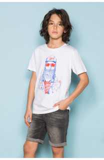 T-shirt T-shirt TELLON Boy S19143B (42611) - DEELUXE-SHOP
