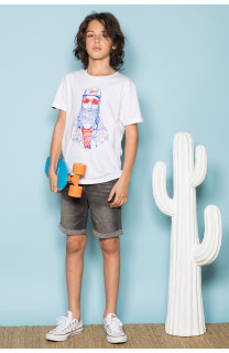T-shirt T-shirt TELLON Boy S19143B (42612) - DEELUXE-SHOP