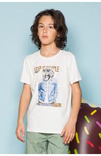 T-shirt T-shirt ROCKY Boy S19162B (42640) - DEELUXE-SHOP