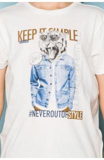 T-shirt T-shirt ROCKY Boy S19162B (42642) - DEELUXE-SHOP