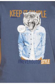 T-shirt T-shirt ROCKY Boy S19162B (42649) - DEELUXE-SHOP
