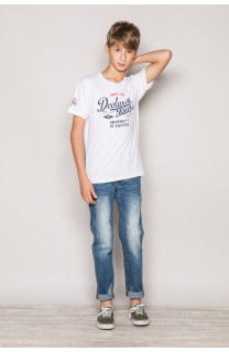 T-shirt T-shirt EIGHTIES Boy S19170B (42665) - DEELUXE-SHOP