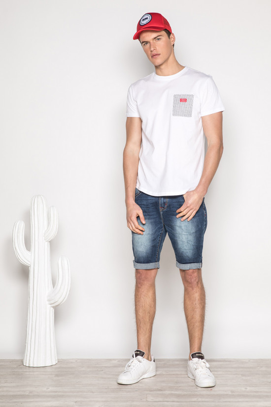 T-shirt MESH Man S19164 (42880) - DEELUXE-SHOP