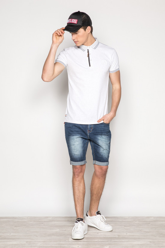 Polo shirt ECLAIR Man S19214 (42885) - DEELUXE-SHOP