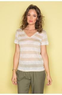 T-shirt T-shirt ADELE Woman S19107W (42940) - DEELUXE-SHOP