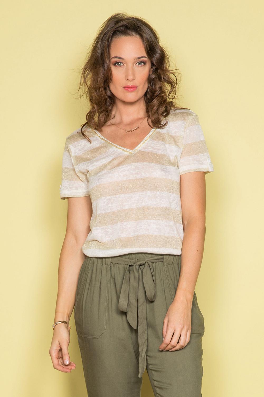 T-shirt ADELE Woman S19107W (42943) - DEELUXE-SHOP