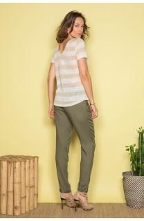 T-shirt T-shirt ADELE Woman S19107W (42944) - DEELUXE-SHOP