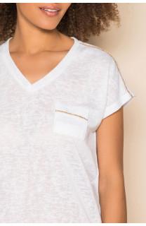 T-shirt T-shirt SANTI Woman S19113W (42951) - DEELUXE-SHOP