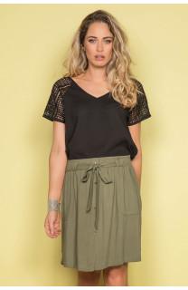 Blouse NAEL Woman S19426W (43010) - DEELUXE-SHOP