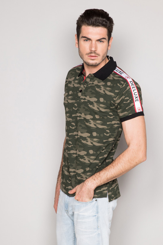 Polo shirt TUPAC Man S19217 (43189) - DEELUXE-SHOP
