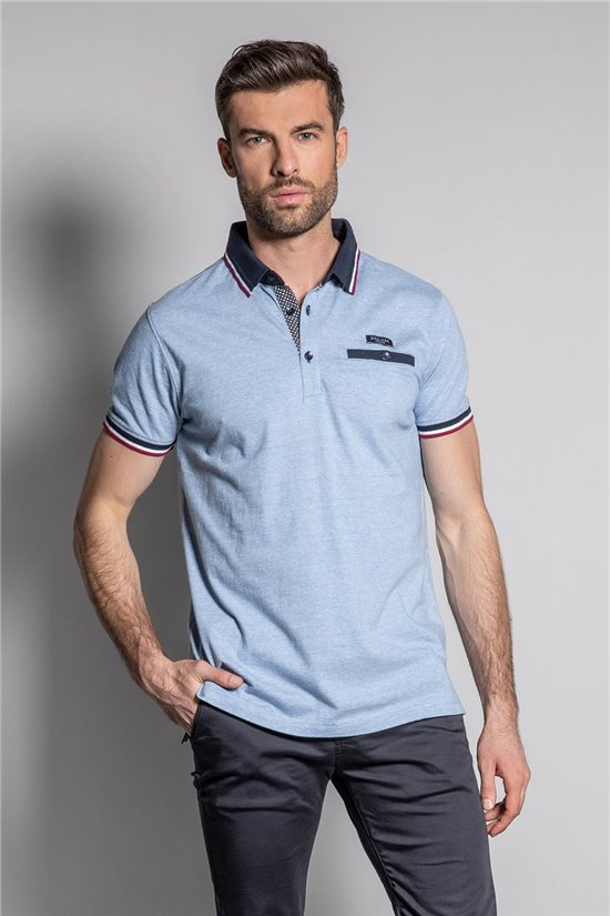 Polo shirt POLO DREXLER Man S19219 (43215) - DEELUXE-SHOP