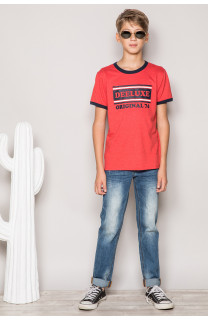 T-shirt T-shirt RECORD Boy S19110B (43293) - DEELUXE-SHOP