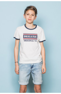 T-shirt T-shirt RECORD Boy S19110B (43298) - DEELUXE-SHOP