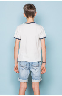 T-shirt T-shirt RECORD Boy S19110B (43299) - DEELUXE-SHOP