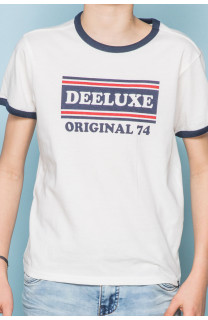 T-shirt T-shirt RECORD Boy S19110B (43300) - DEELUXE-SHOP