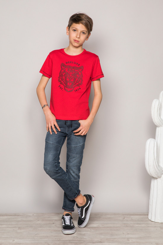 T-shirt T-shirt TIGERO Boy S19152B (43316) - DEELUXE-SHOP