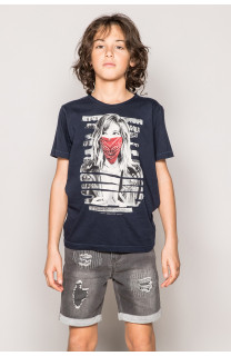 T-shirt BONNIE Boy S19182B (43323) - DEELUXE-SHOP