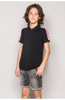 Polo shirt TUPAC Boy S19217B (43344) - DEELUXE-SHOP
