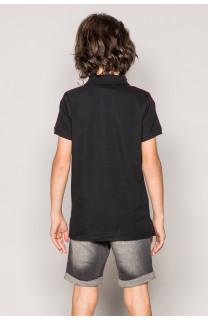Polo shirt TUPAC Boy S19217B (43347) - DEELUXE-SHOP