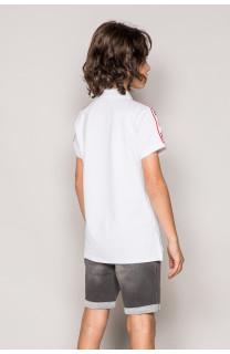 Polo shirt TUPAC Boy S19217B (43352) - DEELUXE-SHOP