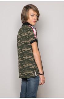 Polo shirt TUPAC Boy S19217B (43357) - DEELUXE-SHOP