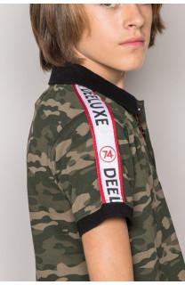Polo shirt TUPAC Boy S19217B (43358) - DEELUXE-SHOP
