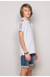 Polo shirt TUPAC Boy S19217B (43359) - DEELUXE-SHOP