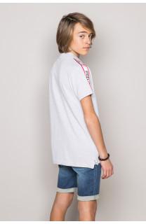 Polo shirt TUPAC Boy S19217B (43362) - DEELUXE-SHOP