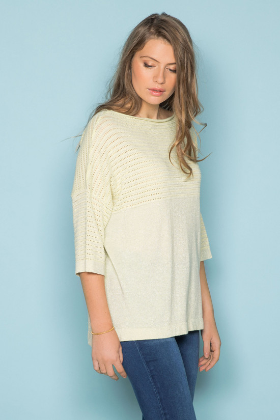 Sweater Sweater ANITA Woman S19304W (43716) - DEELUXE-SHOP