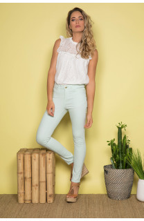 Pant TROUSERS PIME Woman S19721W (43951) - DEELUXE-SHOP