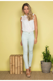 Pant TROUSERS PIME Woman S19721W (43952) - DEELUXE-SHOP