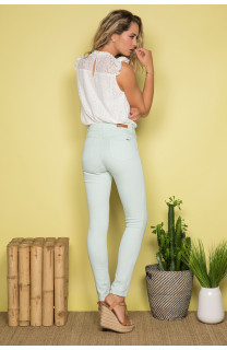 Pant TROUSERS PIME Woman S19721W (43954) - DEELUXE-SHOP
