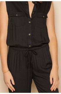 Jumpsuit SAVINA Woman S19755W (44001) - DEELUXE-SHOP