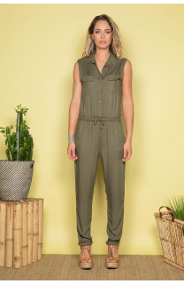 Jumpsuit SAVINA Woman S19755W (44004) - DEELUXE-SHOP