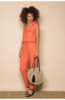 Jumpsuit SAVINA Woman S19755W (44009) - DEELUXE-SHOP