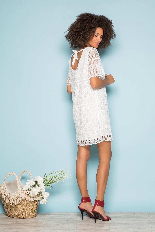 Dress Dress VIRGILE Woman S19210W (44079) - DEELUXE-SHOP