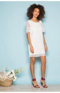 Dress Dress VIRGILE Woman S19210W (44080) - DEELUXE-SHOP
