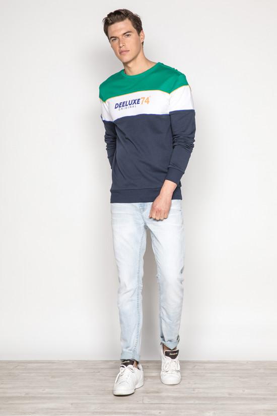 Sweatshirt DRIBBLE Man S19517 (44271) - DEELUXE-SHOP