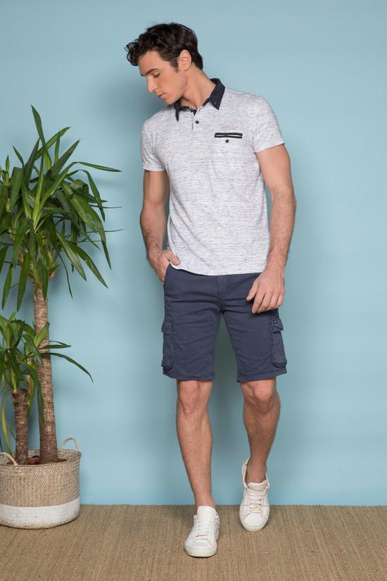 Polo shirt Polo shirt ELIJAH Man S19211 (44276) - DEELUXE-SHOP