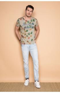 T-shirt T-shirt FRESH Man S19156 (44330) - DEELUXE-SHOP