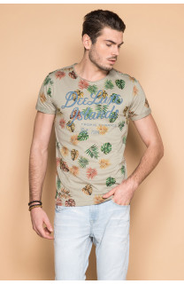 T-shirt T-shirt FRESH Man S19156 (44331) - DEELUXE-SHOP