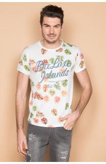 T-shirt T-shirt FRESH Man S19156 (44336) - DEELUXE-SHOP