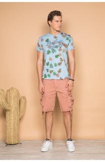 T-shirt T-shirt FRESH Man S19156 (44340) - DEELUXE-SHOP