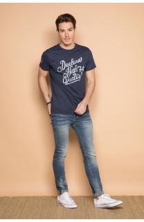 T-shirt T-shirt KELVIN Man S19173 (44400) - DEELUXE-SHOP